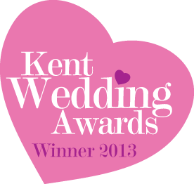Kent Wedding Awards Winner 2013