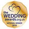 Wedding Awards National Winner 2018